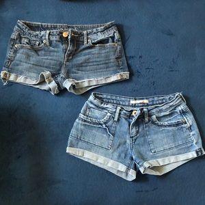 Jean short bundle